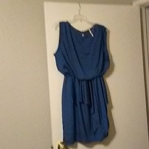 Teal clinched-waist from Modcloth
